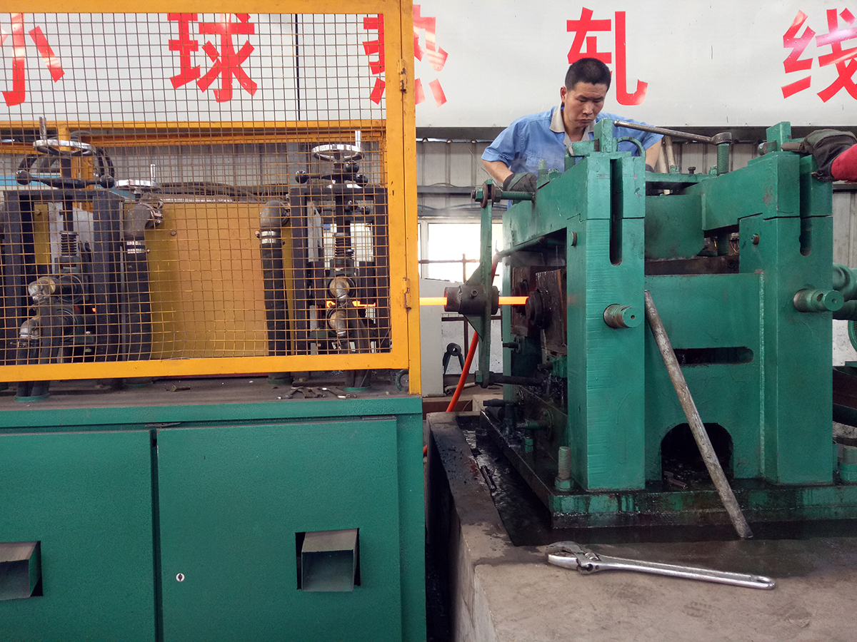 Production of grinding steel balls